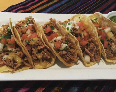 Five Tacos